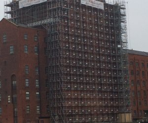 commercial scaffolding victoria mill